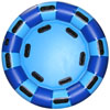 Round Family Raft - Light/Dark Blue