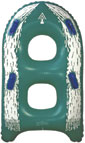 "ST-2G - 48"" 2 Person Speed Tube(Green)"